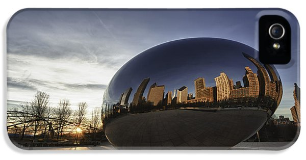 Cloud Gate At Sunrise IPhone 5 / 5s Case by Sebastian Musial
