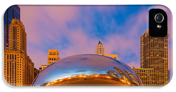Cloud Gate Number 4 IPhone 5 Case by Inge Johnsson