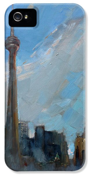 Cn Tower Toronto IPhone 5 Case