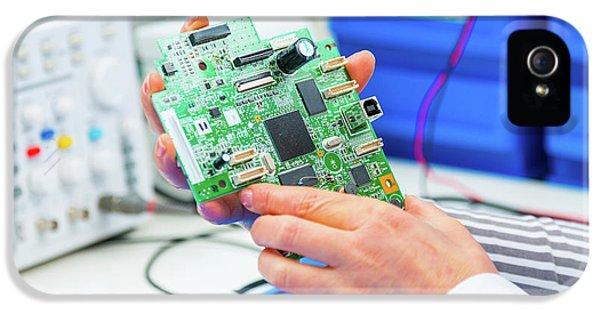 Cnc System IPhone 5 Case