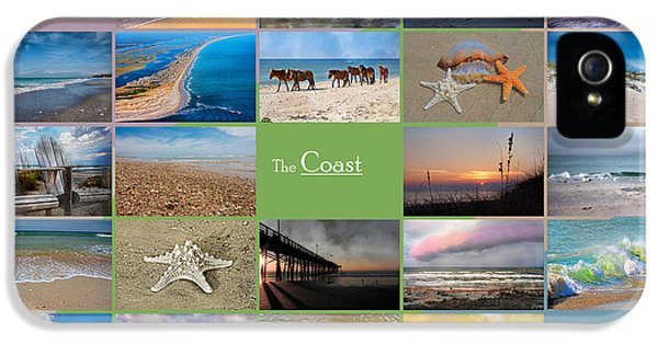 Coastal Winds IPhone 5 Case by Betsy Knapp
