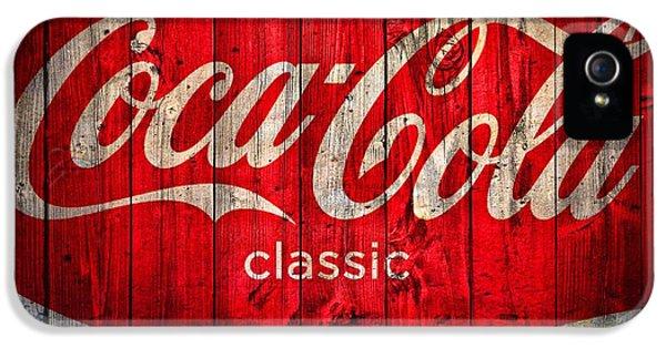 Coca Cola Barn IPhone 5 Case