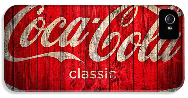 Coca Cola Barn IPhone 5 Case by Dan Sproul