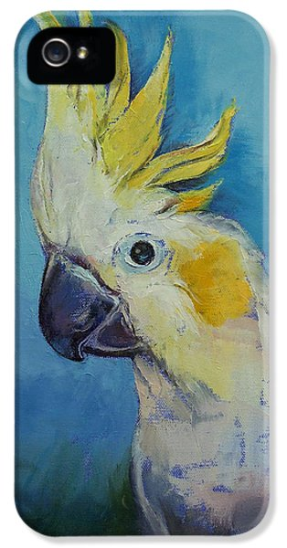 Cockatoo iPhone 5 Case - Cockatoo by Michael Creese