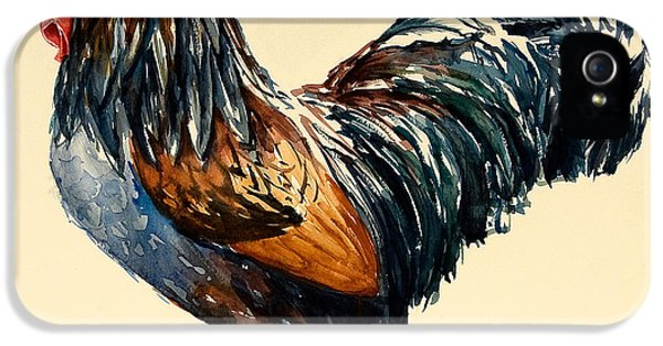 Rooster iPhone 5 Case - Cockerel by Alison Cooper