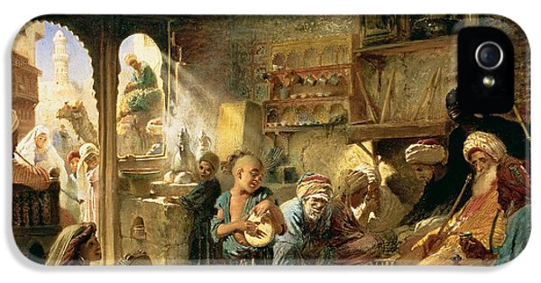 Coffee House In Cairo, 1870s IPhone 5 Case