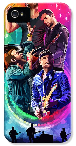 Coldplay Mylo Xyloto IPhone 5 Case