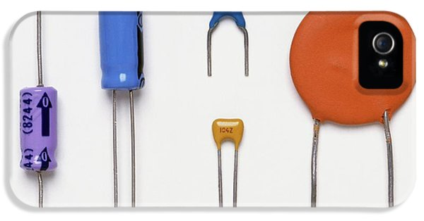 Collection Of Capacitors IPhone 5 Case