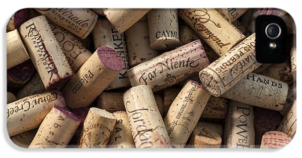 Collection Of Fine Wine Corks IPhone 5 Case by Adam Romanowicz