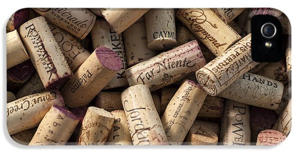 Collection Of Fine Wine Corks IPhone 5 Case