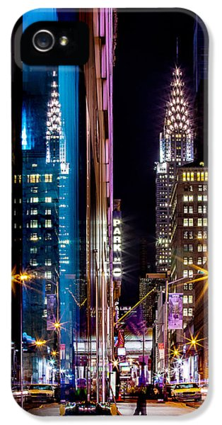 Color Of Manhattan IPhone 5 Case by Az Jackson
