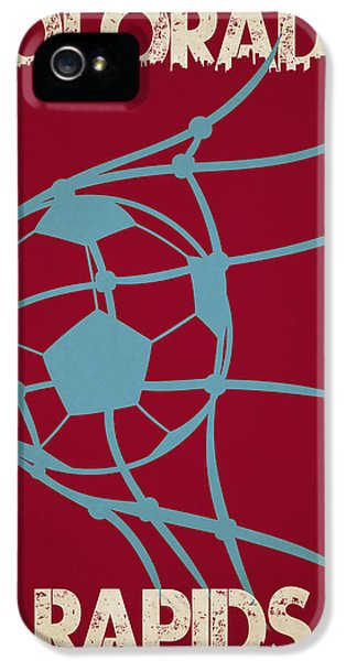 Colorado Rapids Goal IPhone 5 Case by Joe Hamilton