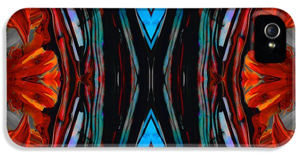 Colorful Abstract Art - Expanding Energy - By Sharon Cummings IPhone 5 Case by Sharon Cummings