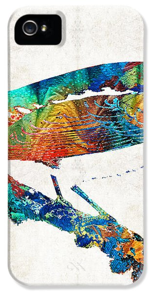 Colorful Bird Art - Sweet Song - By Sharon Cummings IPhone 5 Case by Sharon Cummings