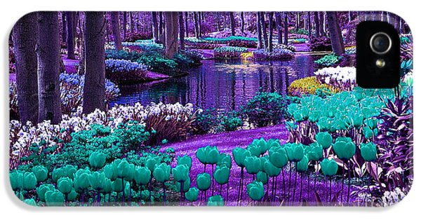 Colorful Flower Garden IPhone 5 Case by Marvin Blaine