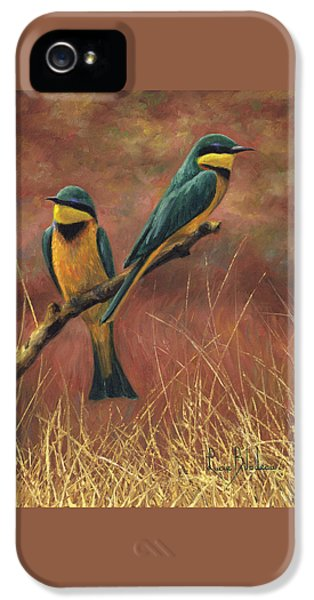 Colorful Pair IPhone 5 Case by Lucie Bilodeau