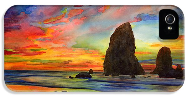 Colorful Solitude IPhone 5 Case by Hailey E Herrera
