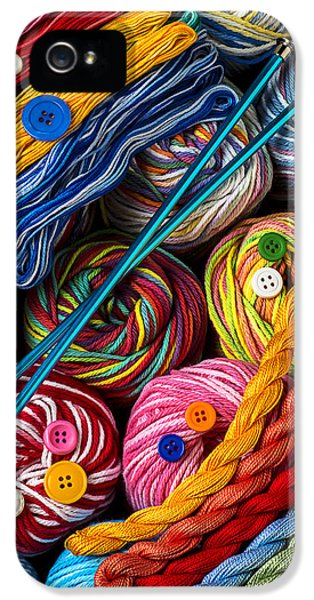 Colorful World Of Art And Craft IPhone 5 Case by Garry Gay