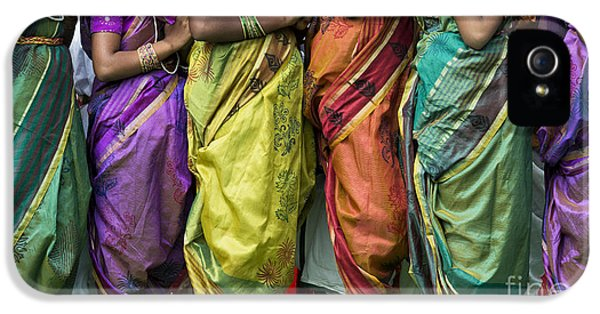 Colourful Sari Pattern IPhone 5 / 5s Case by Tim Gainey