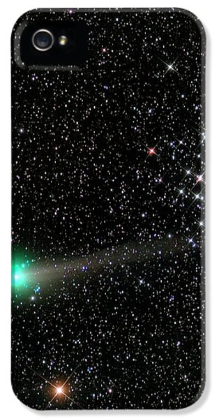 Comet C2013 R1 And Star Cluster M44 IPhone 5 Case by Damian Peach