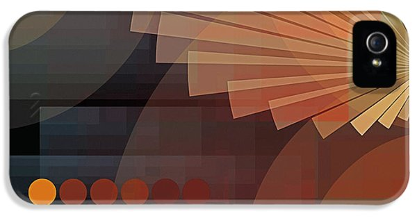 Composition 51 IPhone 5 Case by Terry Reynoldson