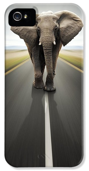 Heavy Duty Transport / Travel By Road IPhone 5 Case