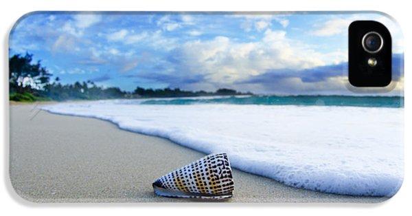 Beach iPhone 5 Case - Cone Foam by Sean Davey