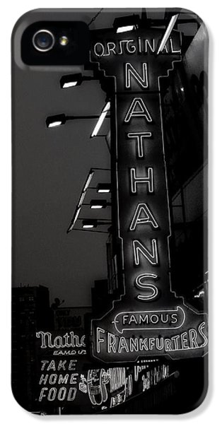 Coney Island Noir IPhone 5 Case