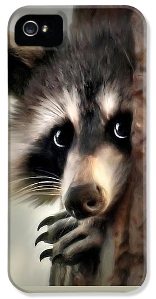 Conspicuous Bandit IPhone 5 Case by Christina Rollo