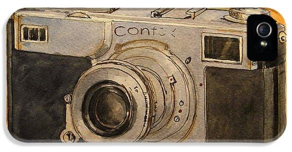 Contax II IPhone 5 Case