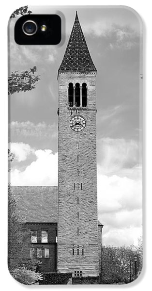 Cornell University Mc Graw Tower IPhone 5 / 5s Case by University Icons