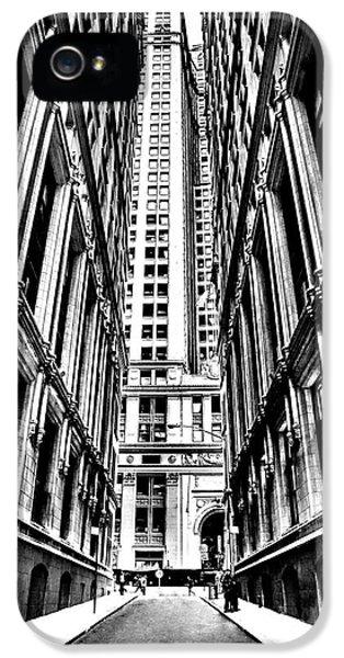 Broadway iPhone 5 Case - Corporatocracy by Az Jackson