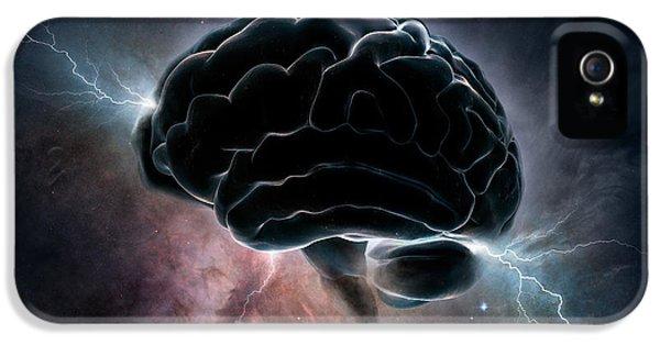 Cosmic Intelligence IPhone 5 Case by Johan Swanepoel