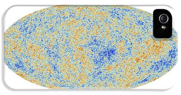 Cosmic Microwave Background, Planck Image IPhone 5 Case by European Space Agency,the Planck Collaboration