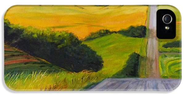 Country Road IPhone 5 Case