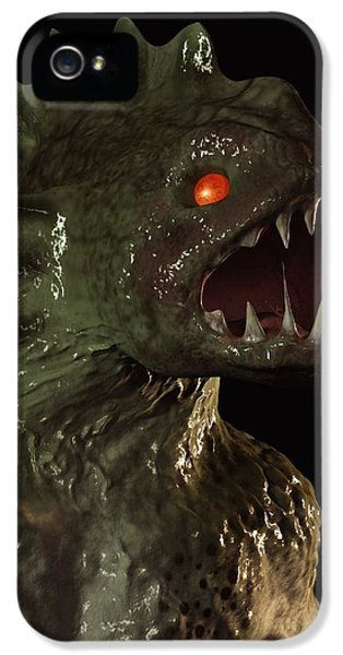 Creature From The Deep IPhone 5 Case