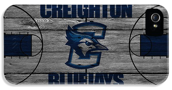 Creighton Bluejays IPhone 5 / 5s Case by Joe Hamilton