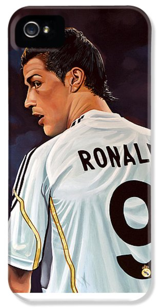 Cristiano Ronaldo IPhone 5 Case