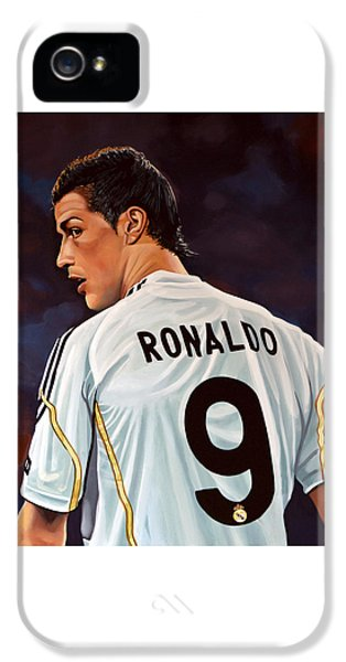Cristiano Ronaldo IPhone 5 Case by Paul Meijering