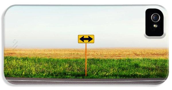Crossroads IPhone 5 Case by Todd Klassy