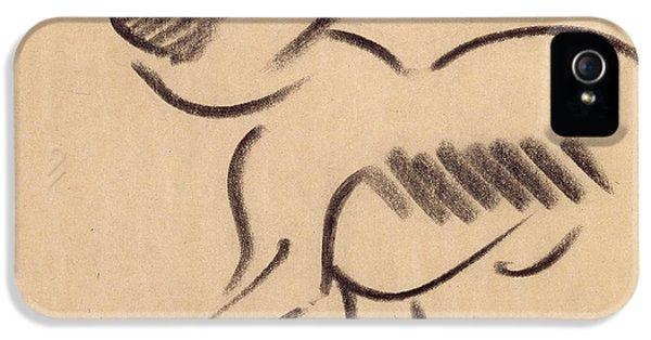 Crouching Monkey IPhone 5 / 5s Case by Henri Gaudier-Brzeska