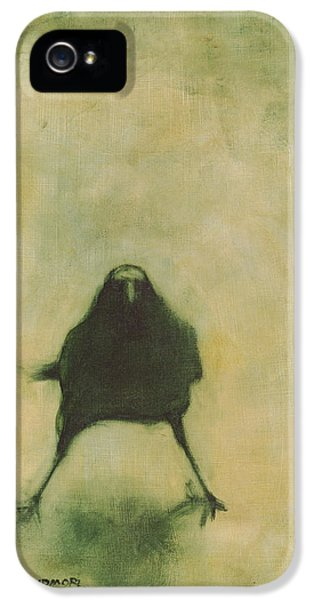 Crow iPhone 5 Case - Crow 6 by David Ladmore