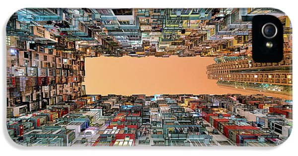 Hong Kong iPhone 5 Case - Crowded Spaces by Gerald Macua