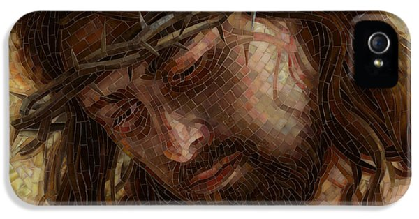Crown Of Thorns Glass Mosaic IPhone 5 Case