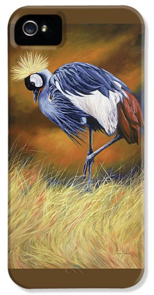 Crane iPhone 5 Case - Crowned by Lucie Bilodeau