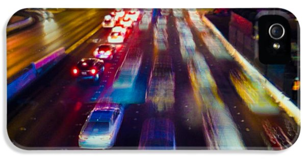 Cruising The Strip IPhone 5 Case by Alex Lapidus