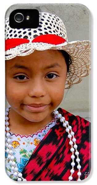 Cuenca Kids 384 IPhone 5 Case by Al Bourassa