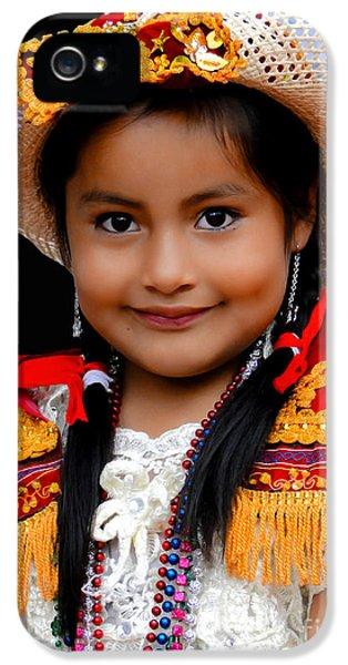 Cuenca Kids 447 IPhone 5 Case by Al Bourassa