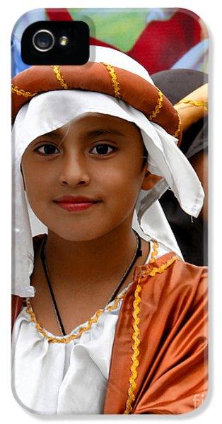 Cuenca Kids 464 IPhone 5 Case by Al Bourassa