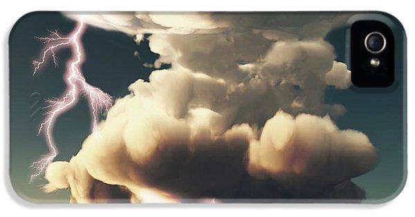 Cumulonimbus Storm Cloud IPhone 5 Case by Mikkel Juul Jensen